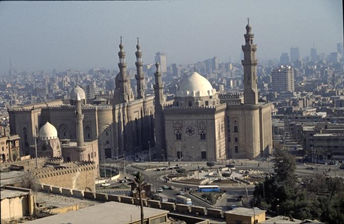 Blick von der Zitadelle auf …