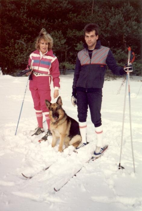 Mit Alex im Schnee …