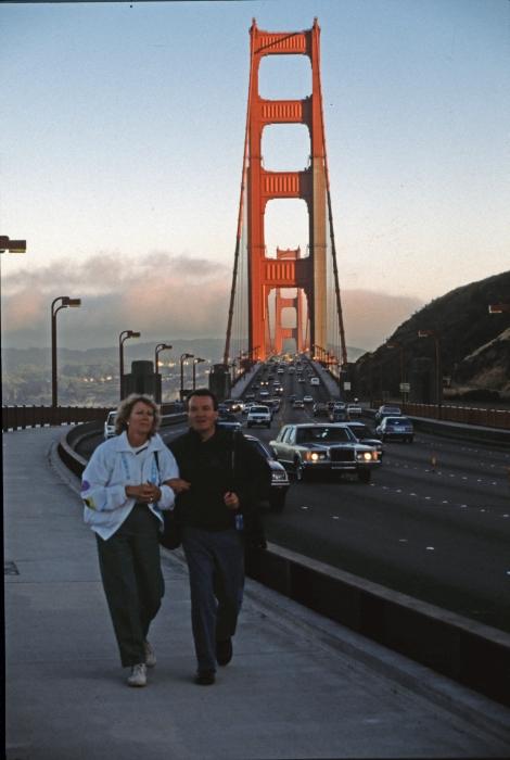 Die Golden Gate einmal …