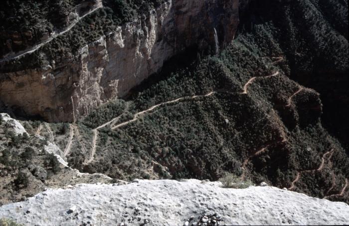 Über den Bright Angel Trail