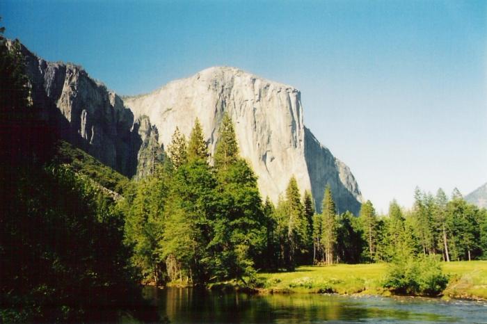 Der El Capitan mit 2307 m …