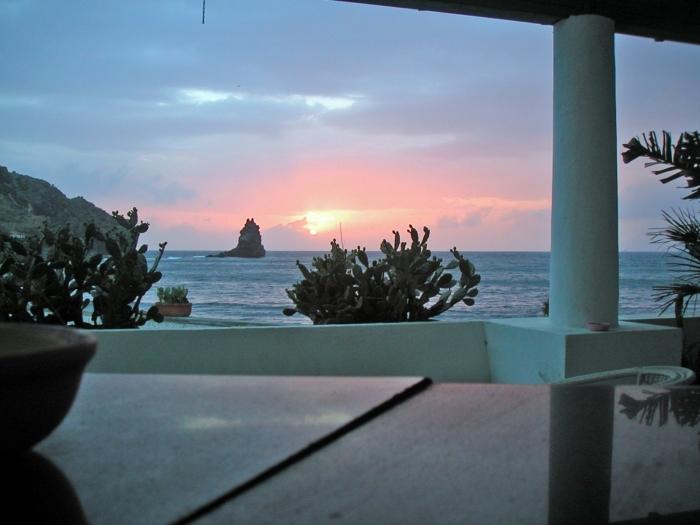 Sonnenuntergang vor …