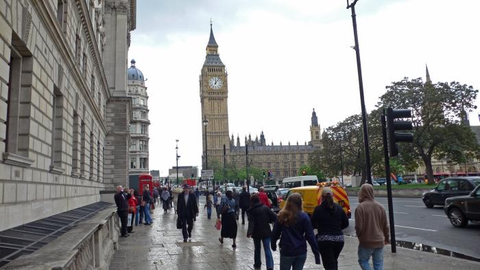 Der Westminster palace …