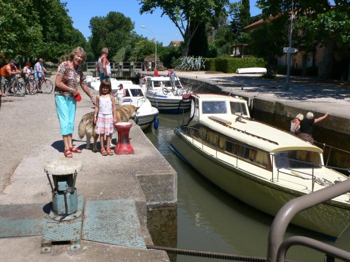 Am Canal du Midi ein …
