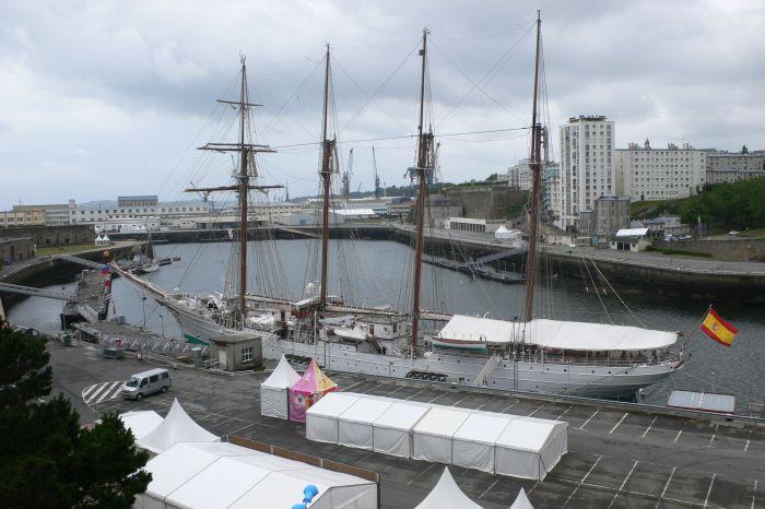 Das Segelschulschiff …