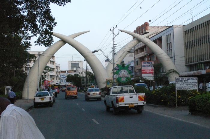 Mombasa in Kenia …