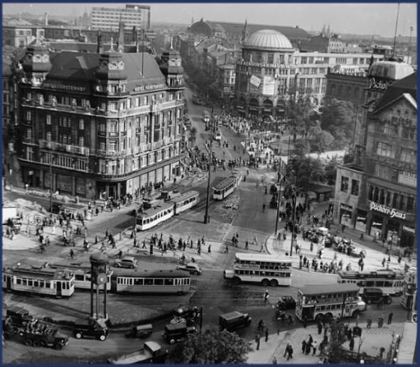 Der Potsdamer Platz …