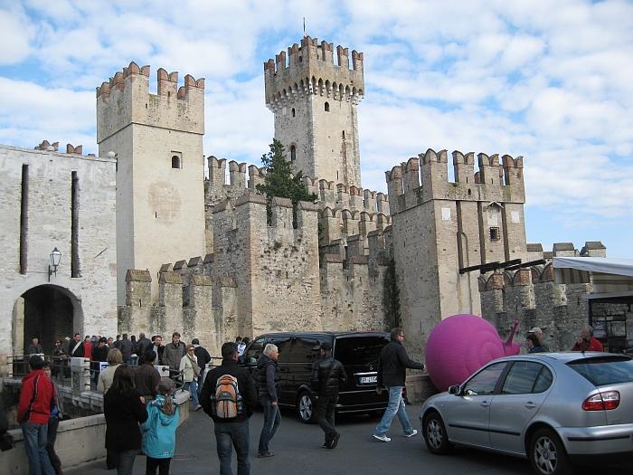Das Schloss in Sirmione …