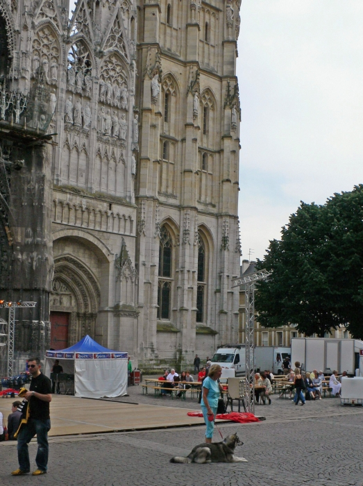 In Rouen, Hauptstadt der …