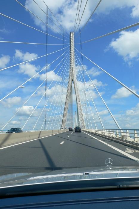 Die 'Pont de Normandie' ...