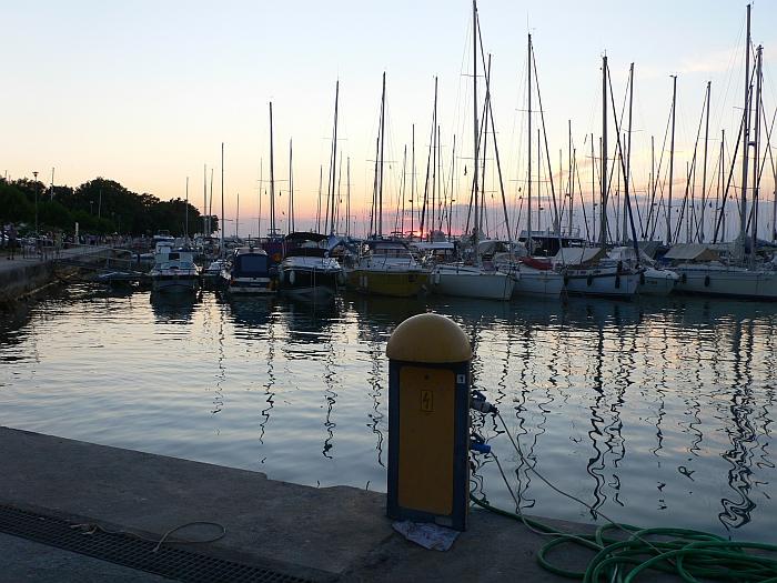 Abendstimmung im Hafen …