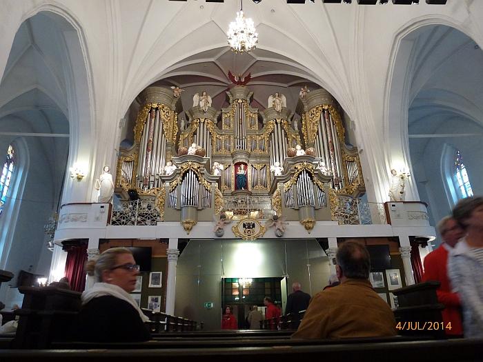 Die heutigen Orgeln des …