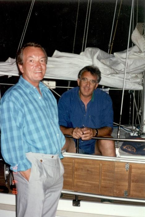 Zwei Skipper …