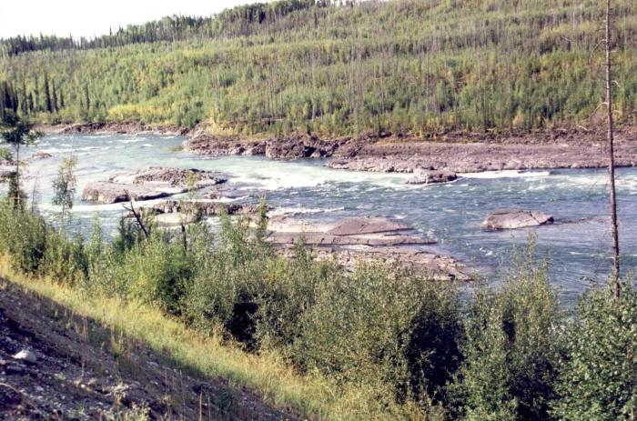 Der Yukon-River bei …
