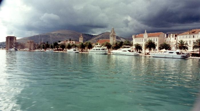 Vergnügen uns in Trogir …