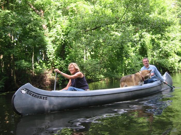 Eine Bootsfahrt …